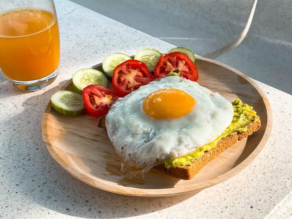 Bữa sáng mùa giãn cách